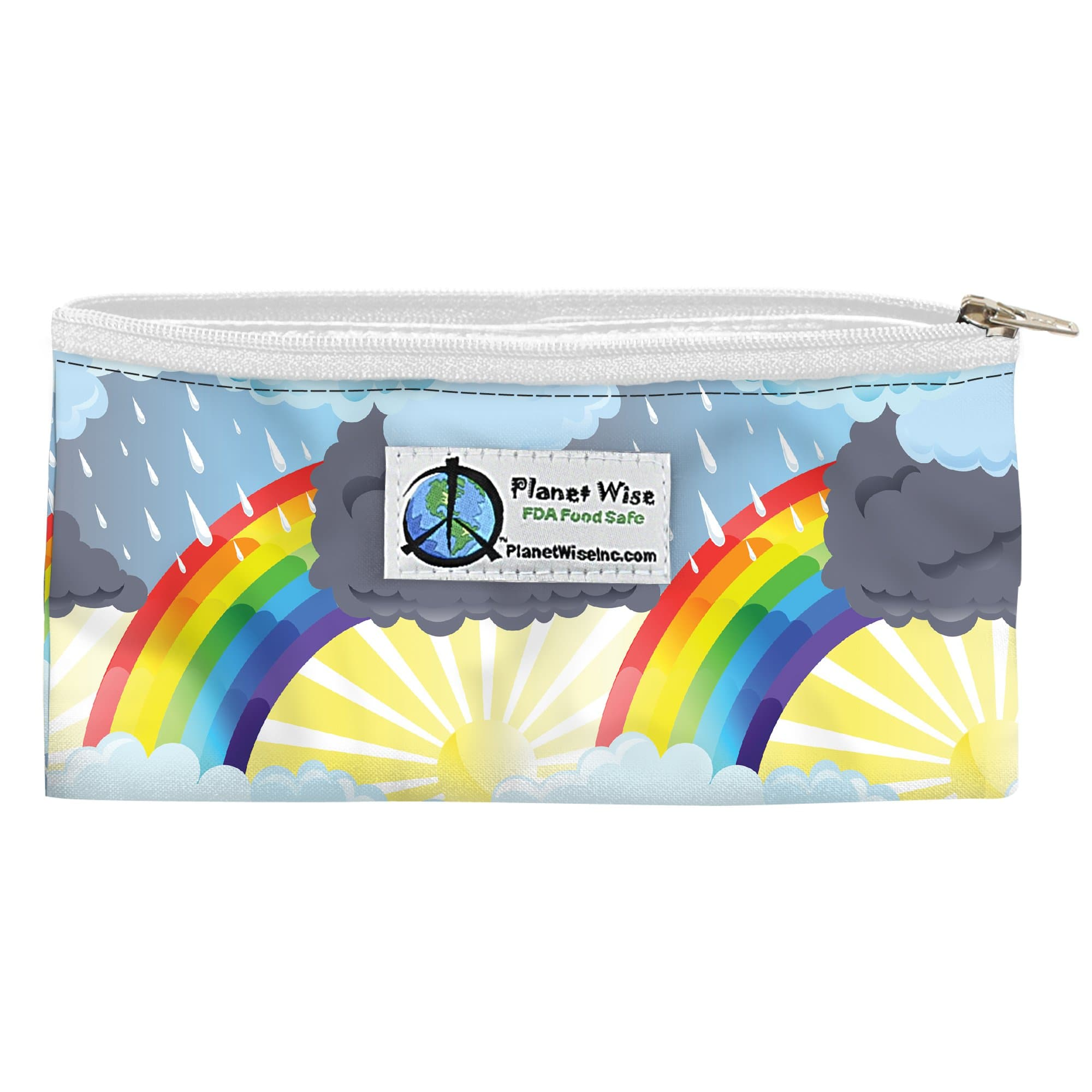 Planet Wise Reusable Zipper Snack Bag - Through The Storm