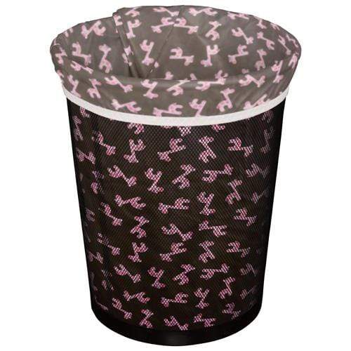 Planet Wise Small Diaper Pail Liner - Pink Giraffe