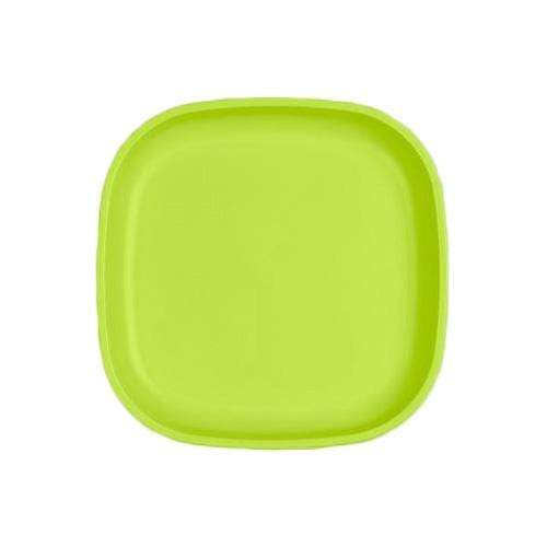 "Re-Play 9"" Flat Plate - Lime Green"