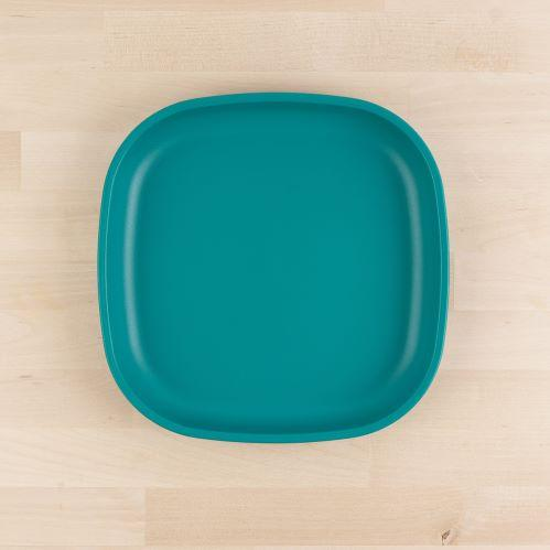 "Re-Play 9"" Flat Plate - Teal"