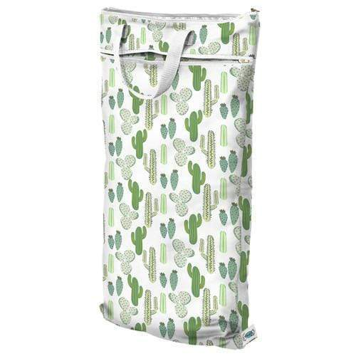 SECONDS - Planet Wise Hanging Wet/Dry Bag - Prickly Cactus