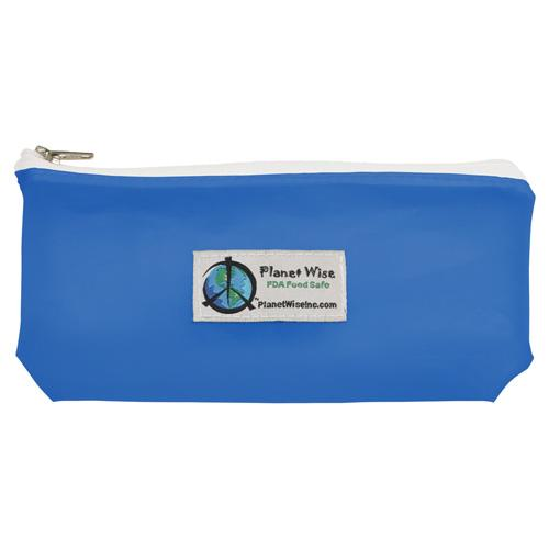 SECONDS - Planet Wise Reusable Tinted Zipper Snack Bag - Blue