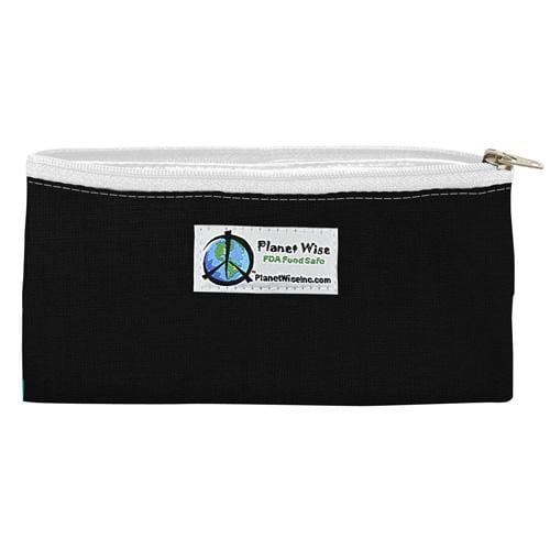 SECONDS - Planet Wise Reusable Zipper Snack Bag - Black