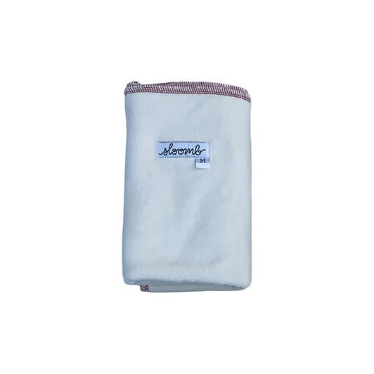 Sloomb Bamboo Velour Flat Cloth Diaper - Loam