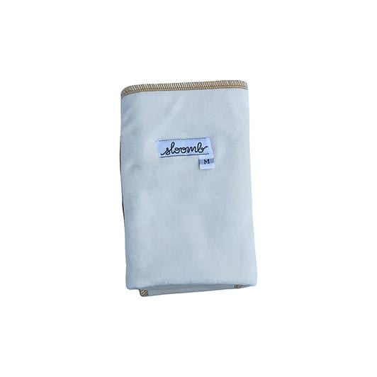 Sloomb Bamboo Velour Flat Cloth Diaper - Yarrow