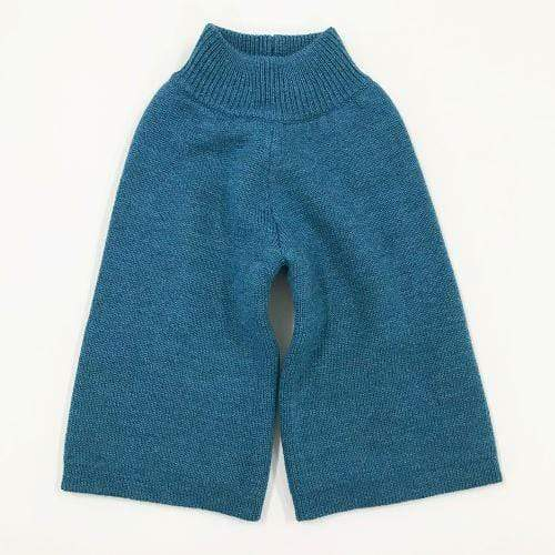 Sloomb Knit Wool Longies - Lapis