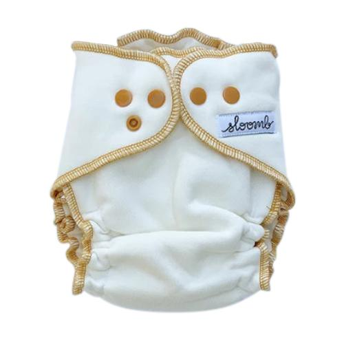 Sloomb Overnight Bamboo Fleece Fitted Diapers - Yarrow