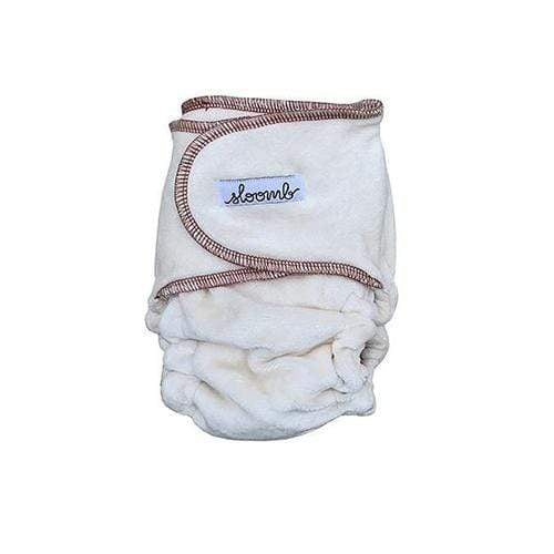 Sloomb Snapless Multi Velour Fitted Diaper - Loam