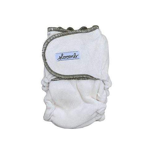 Sloomb Snapless Multi Velour Fitted Diaper - Nettle