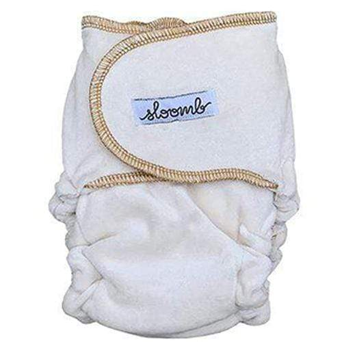 Sloomb Snapless Multi Velour Fitted Diaper - yarrow