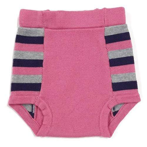 Sloomb Washable Double Layer Knit Underwoolies - Sweettooth Stripe