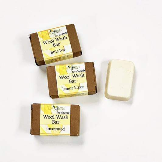 Sloomb Wool Wash Bar - Oatmeal, Milk & Honey