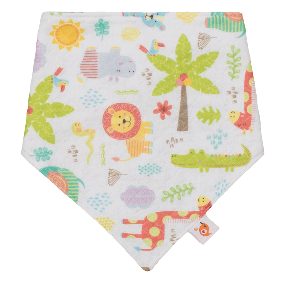 Smart Bottoms Bandana Bib - Wild About You