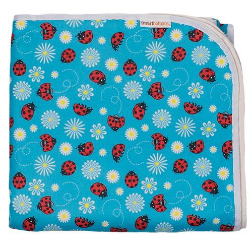 Smart Bottoms Beach Blanket - Little Ladybugs