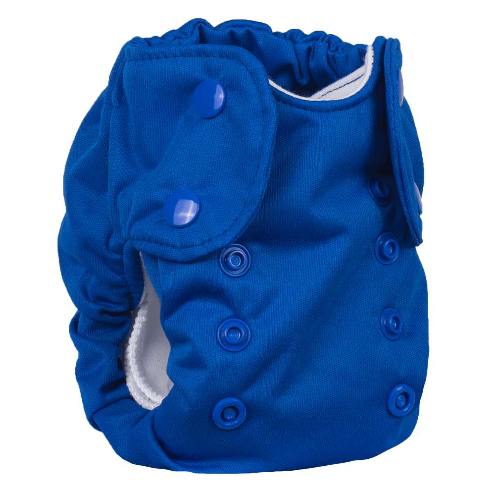 Smart Bottoms Born Smart 2.0 Newborn Cloth Diaper - Basic Blue