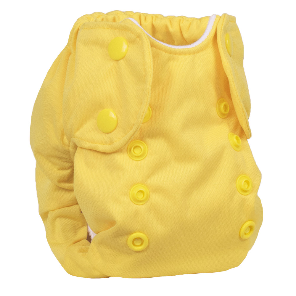 Smart Bottoms Born Smart 2.0 Newborn Cloth Diaper - Basic Yellow