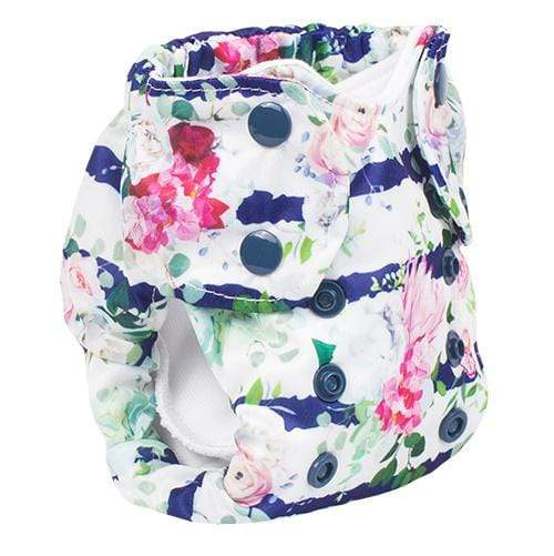 Smart Bottoms Born Smart 2.0 Newborn Cloth Diaper - Belle Blossom Newborn