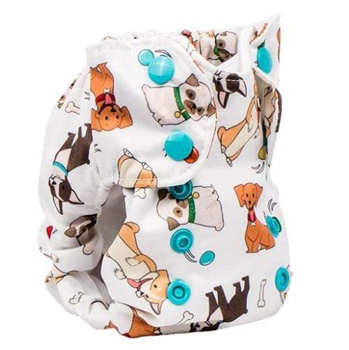 Smart Bottoms Born Smart 2.0 Newborn Cloth Diaper - Fido Newborn