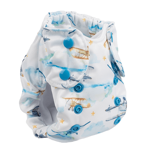 Smart Bottoms Born Smart 2.0 Newborn Cloth Diaper - First Flight Newborn