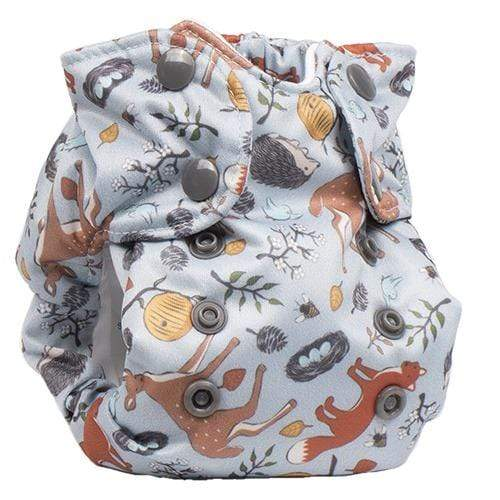 Smart Bottoms Born Smart 2.0 Newborn Cloth Diaper - Forest Friends Newborn