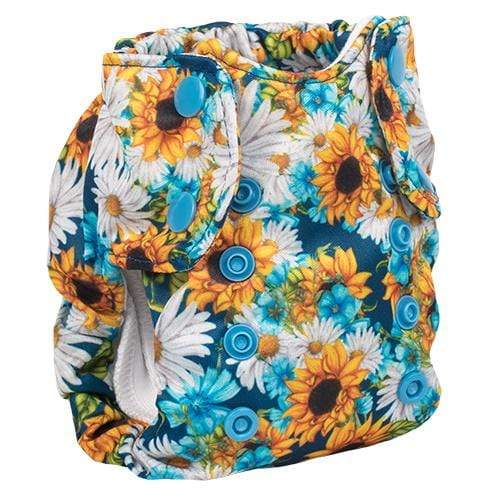 Smart Bottoms Born Smart 2.0 Newborn Cloth Diaper - Hello Sunshine Newborn