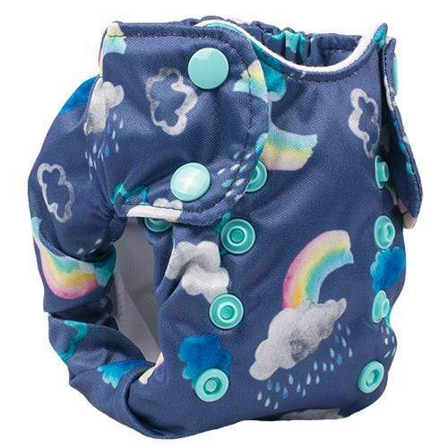 Smart Bottoms Born Smart 2.0 Newborn Cloth Diaper - Over the Rainbow Newborn