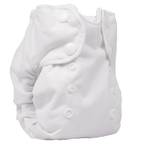 Smart Bottoms Born Smart 2.0 Newborn Cloth Diaper - White Newborn