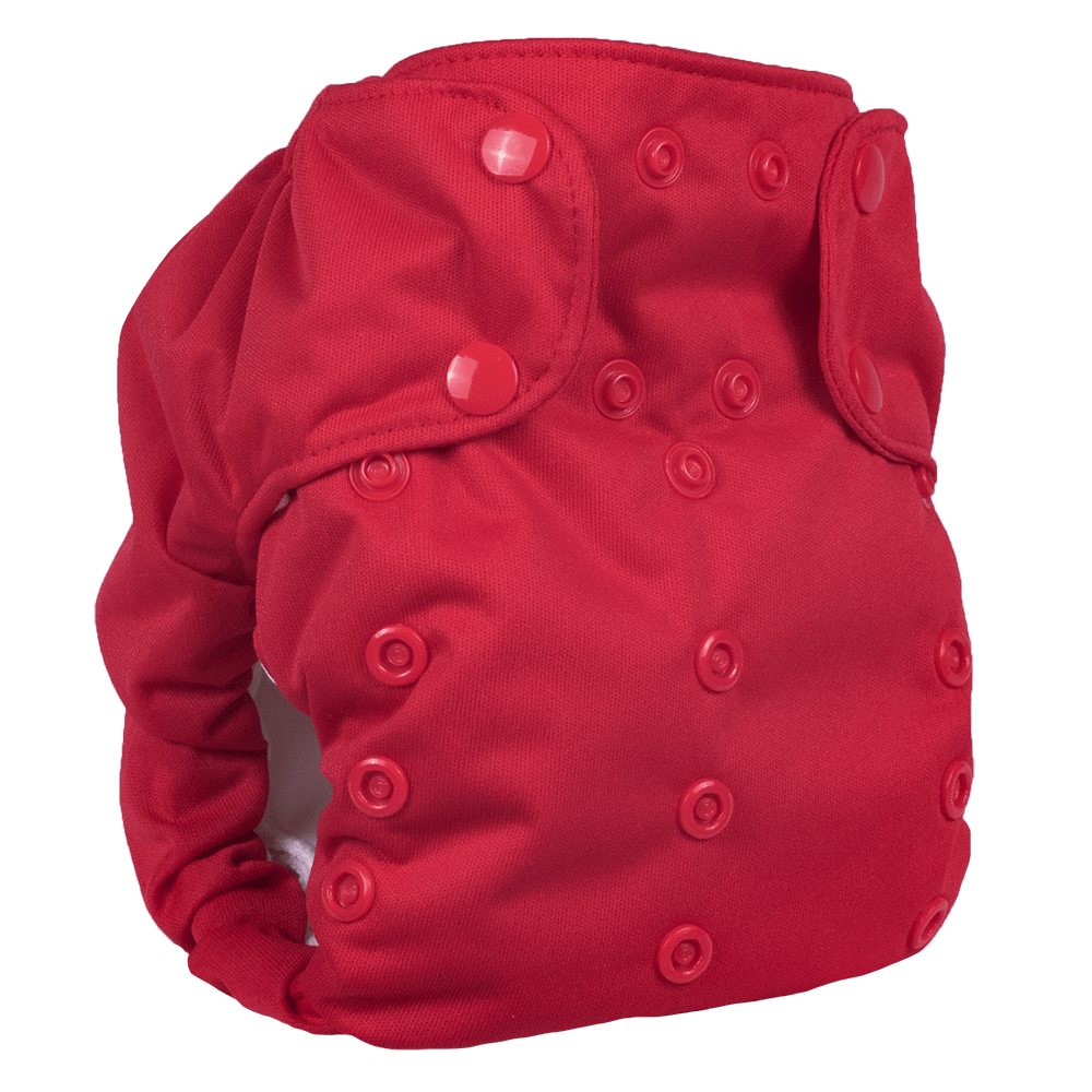 Smart Bottoms Dream Diaper 2.0 - Basic Red