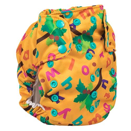 Smart Bottoms Dream Diaper 2.0 - Chicka Chicka Boom Boom ABC's