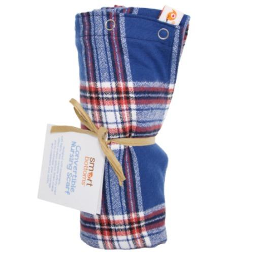Smart Bottoms Flannel Nursing Scarf - Whistler