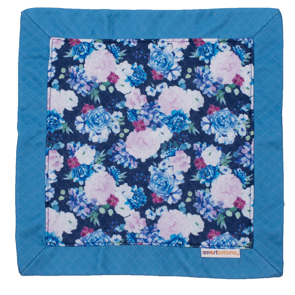 Smart Bottoms Lovey Blanket - Blossoming Blooms