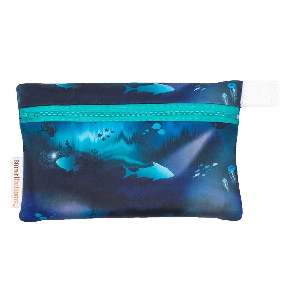 Smart Bottoms Mini Wet Bag - Abyss