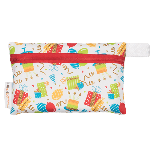 Smart Bottoms Mini Wet Bag - Birthday Party
