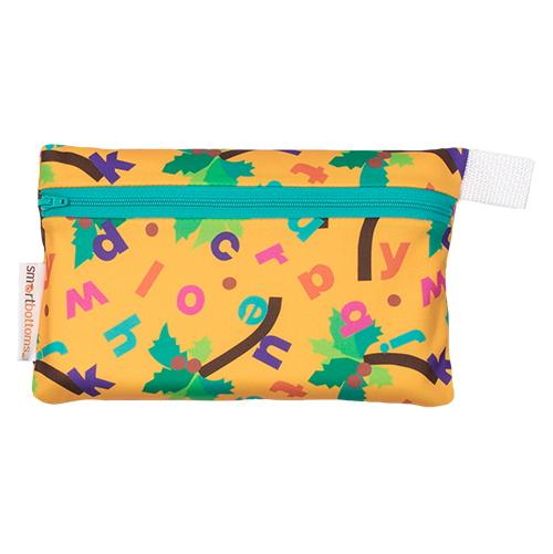 Smart Bottoms Mini Wet Bag - Chicka Chicka Boom Boom ABC's