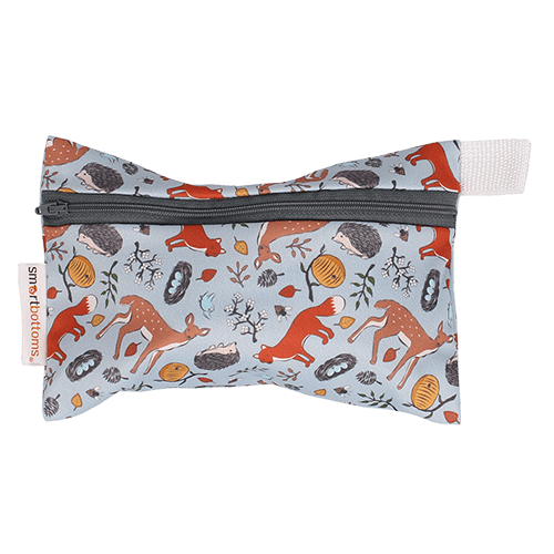 Smart Bottoms Mini Wet Bag - Forest Friends