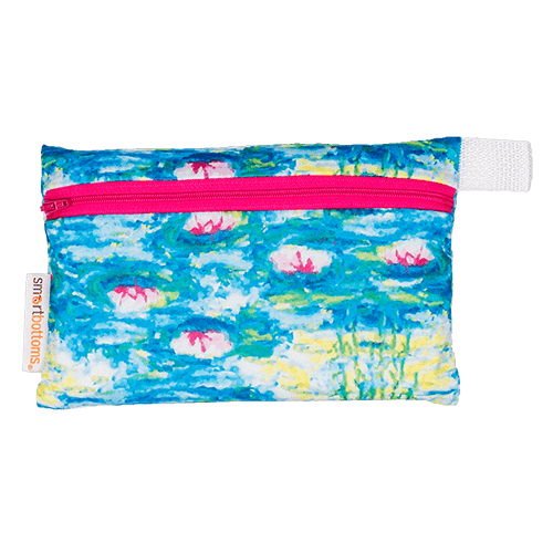 Smart Bottoms Mini Wet Bag - Water Lilies