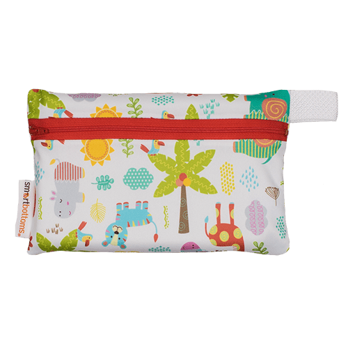 Smart Bottoms Mini Wet Bag - Wild About You