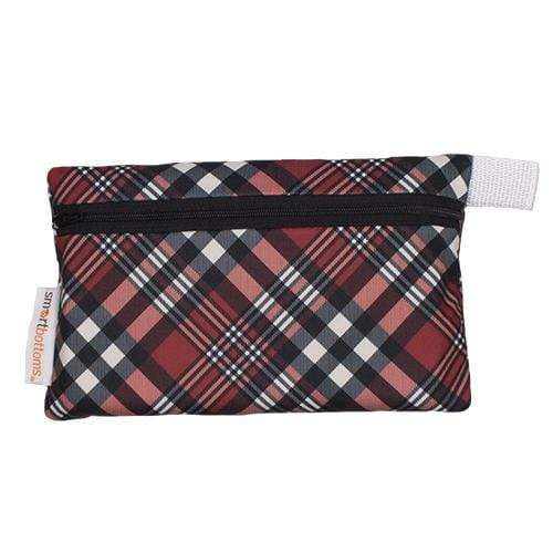 Smart Bottoms Mini Wet Bag - Yule Love This Plaid