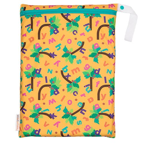 Smart Bottoms On The Go Wet Bag - Chicka Chicka Boom Boom ABC's
