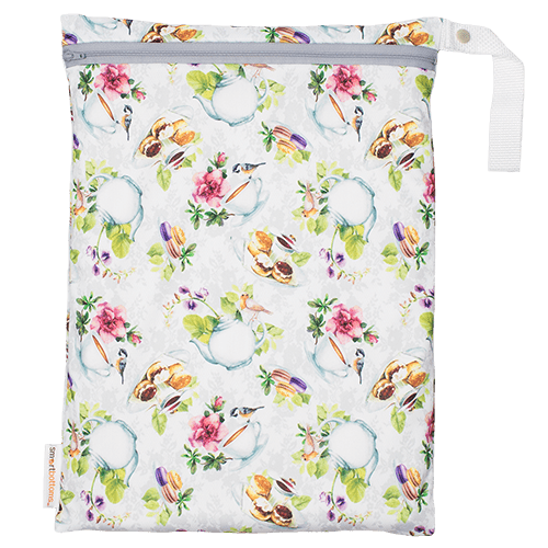 Smart Bottoms On The Go Wet Bag - Tea Party