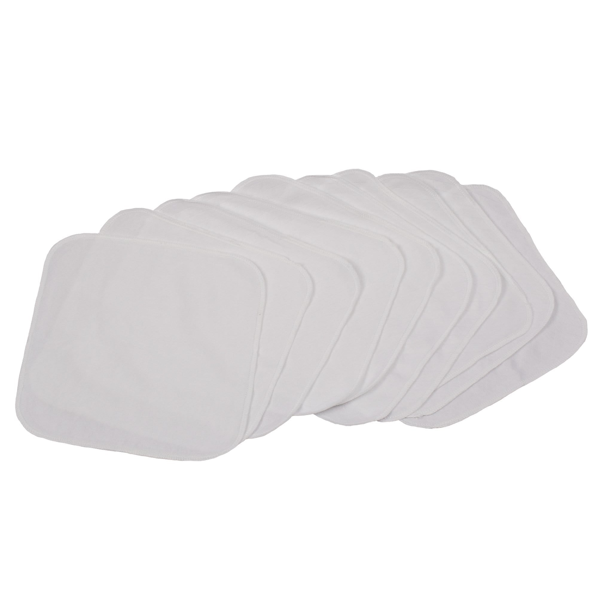 Smart Bottoms Quilted Wipes 10 Pack - Solid White