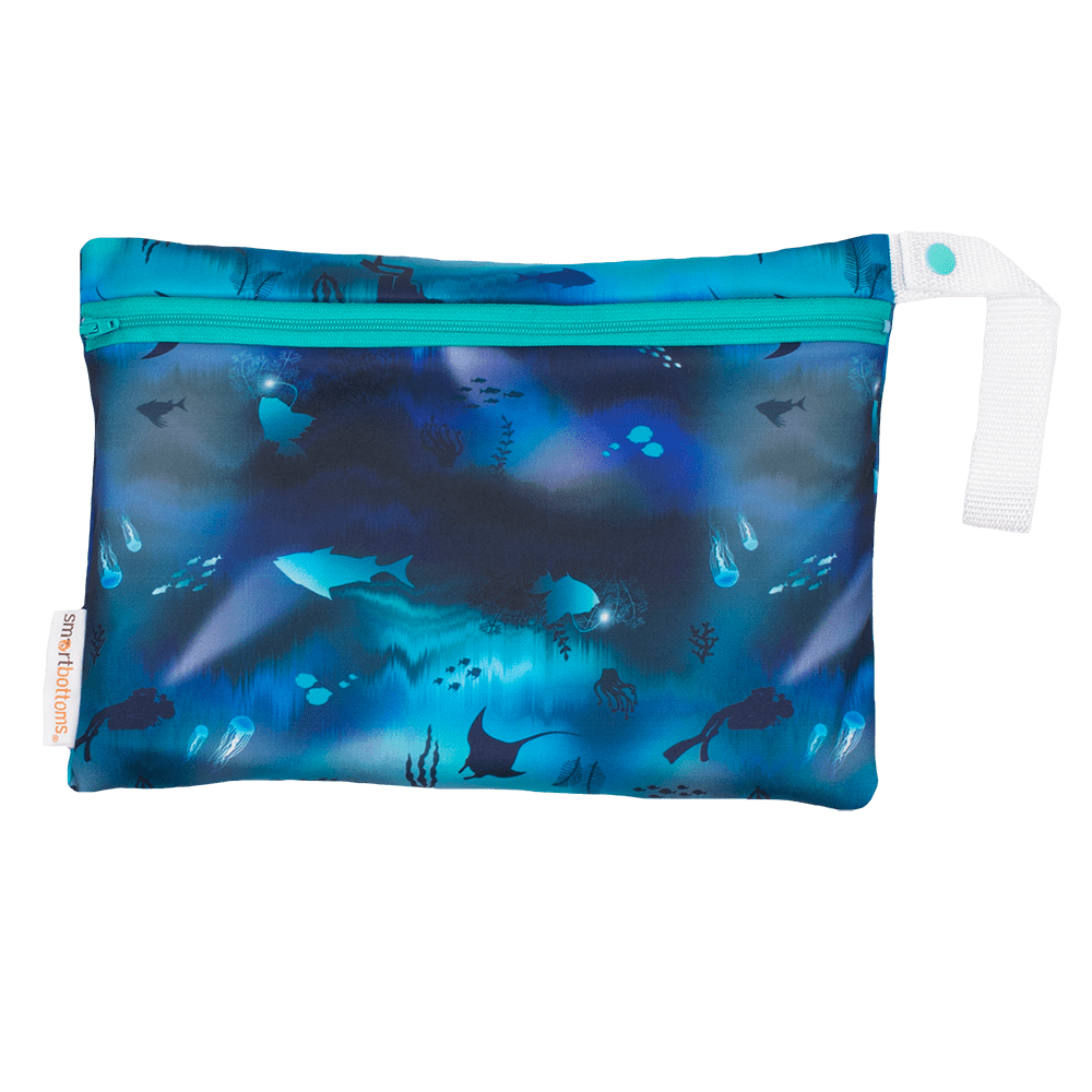 Smart Bottoms Small Wet Bag - Abyss