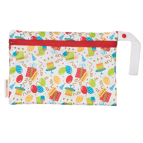 Smart Bottoms Small Wet Bag - Birthday Party