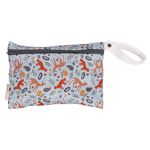 Smart Bottoms Small Wet Bag - Forest Friends S