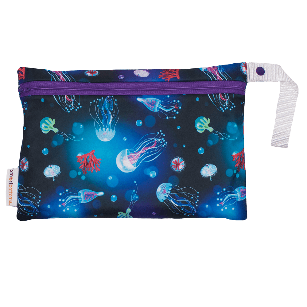 Smart Bottoms Small Wet Bag - Ocean Blooms