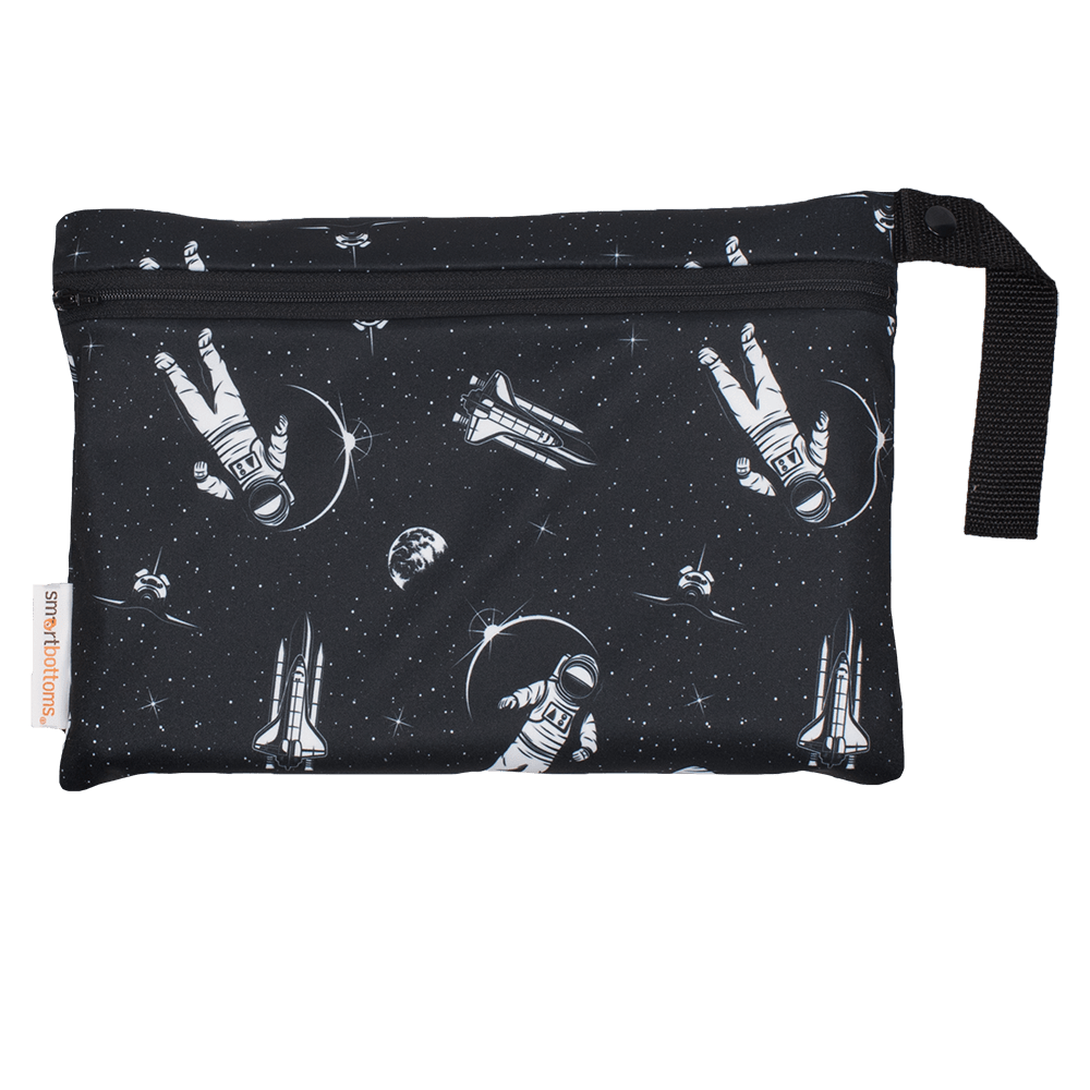 Smart Bottoms Small Wet Bag - Space Race