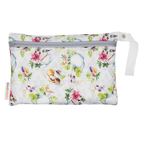 Smart Bottoms Small Wet Bag - Tea Party