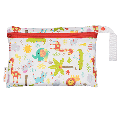 Smart Bottoms Small Wet Bag - Wild About You