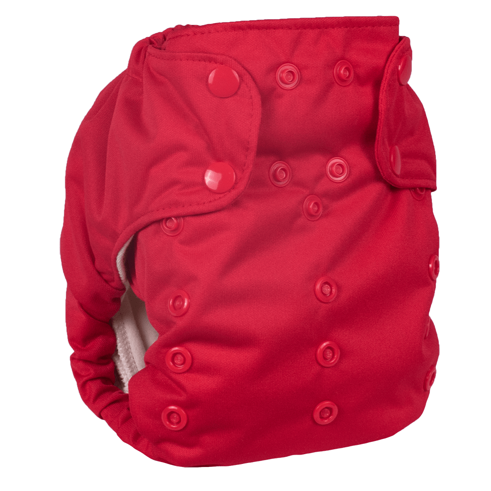 Smart Bottoms Smart One 3.1 Cloth Diaper - Basic Red