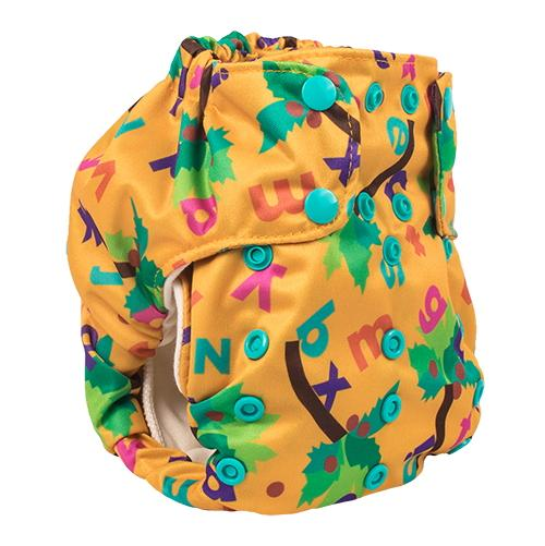 Smart Bottoms Smart One 3.1 Cloth Diaper - Chicka Chicka Boom Boom ABC's
